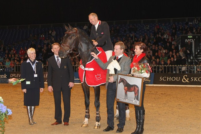 Årets Hingst / Stallion of the Year 2012: Crelido
