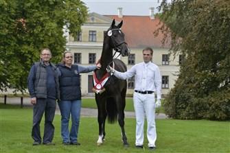2-year-old Dressage Filly of the Year: Vestervangs Delicious.